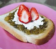 甘トースト,健康, 料理, 美は1日にしてならず, 美容