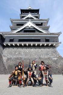 熊本城,武将隊