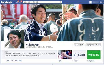 小泉進次郎,ネット選挙
