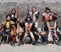 熊本城,おもてなし武将隊