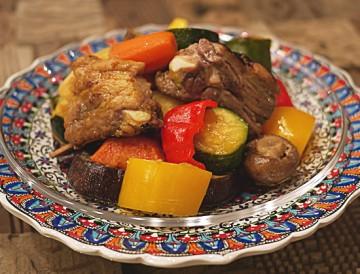 野菜たっぷり異国風蒸し煮