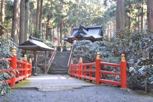 御岩神社の拝殿