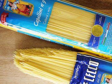 カッペリーニ,鍋,レシピ