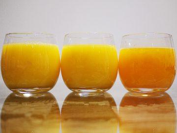 オレンジジュース,濃縮還元,ストレート,フレッシュ