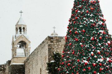 クリスマス,パレスチナ
