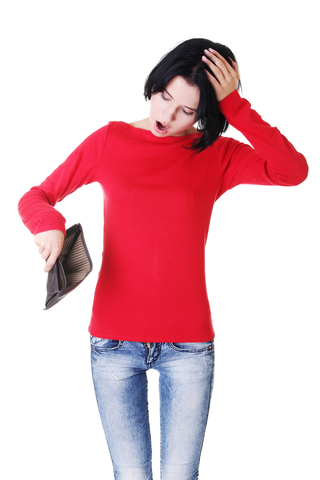 """働く女性の""""お小遣い""""は平均●万円(イメージ画像)"""