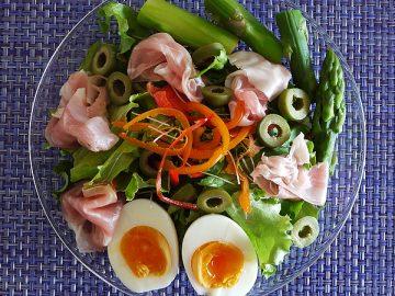 美容食材たっぷり! ごちそうサラダ