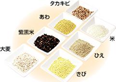 7種類の穀物