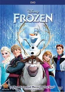 アナと雪の女王 DVDパッケージ画像