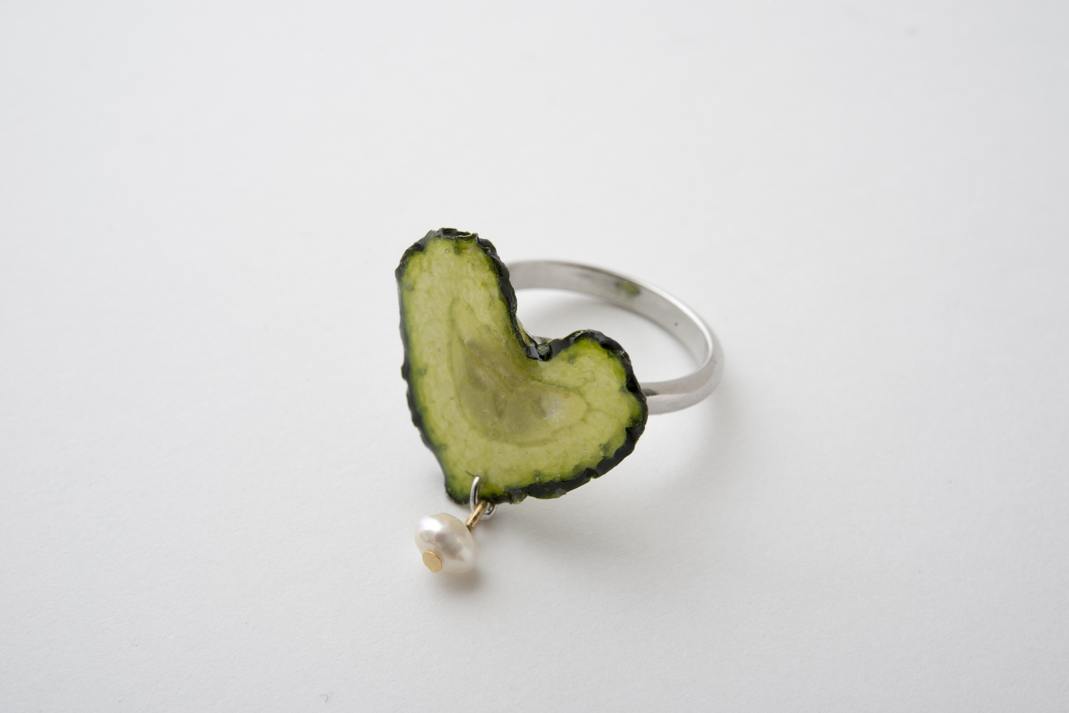 キュウリの指輪