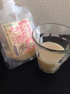 玄米甘酒ストレート(マルシマ)