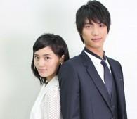 川口春奈と福士蒼汰(インタビュー写真3)