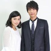 川口春奈と福士蒼汰(インタビュー写真4)