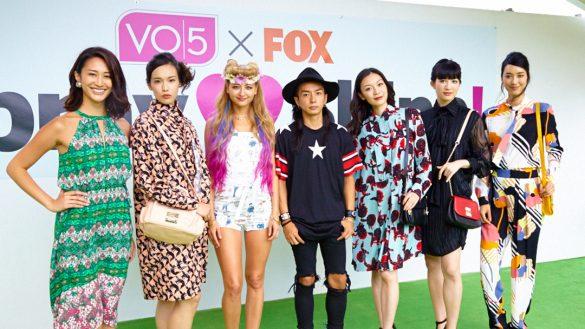 宮崎京がプロデュースしたファッションショーの様子 2つめのテーマは「Lunch date with Boyfriend」