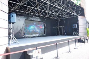 EXILEメンバーのほか、LDH所属アーティストが不定期で登場するステージ