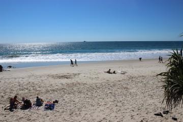 ゴールドコーストのビーチ