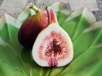 夏の果物イチヂク