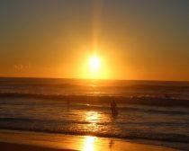 サーファーズパラダイスの日の出