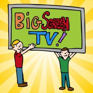 巨大テレビ