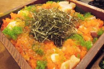 和食屋かいり「海鮮ひつまぶし」(写真1)