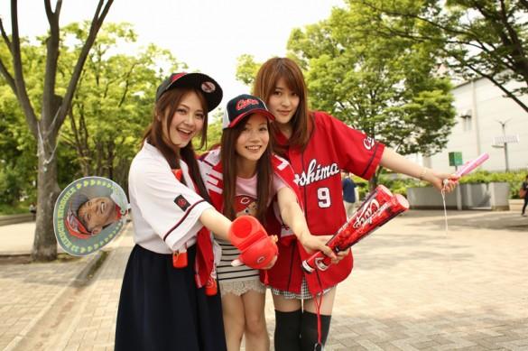 """カープ女子の""""神3"""""""