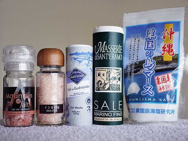 (5)美味しい塩を選ぶ