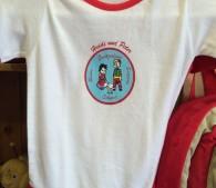 ゆるカワイイ、ハイジとペーターのイラスト。小さい子を持つ友人にお土産に買って行ったら喜んでくれるだろうか