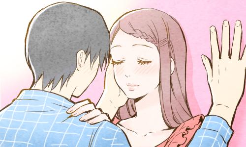 イメージ:男性が思わずキスしちゃうぷるぷるの唇になる