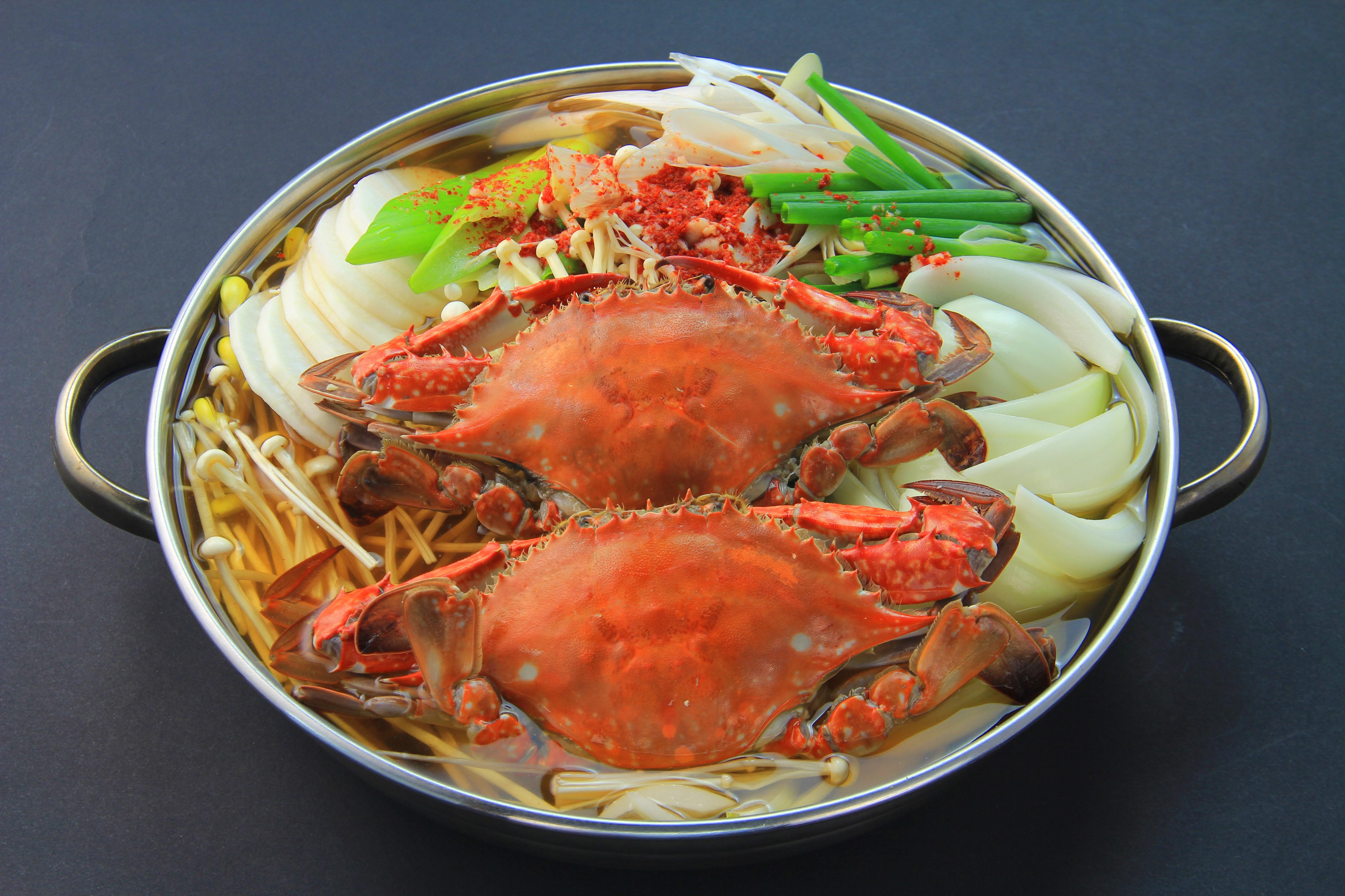 渡り蟹入り海鮮鍋