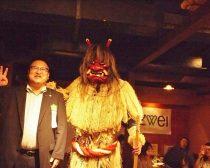 なまはげ と 仙北市の門脇光浩市長