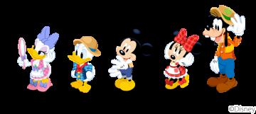 ディズニーマジックキャッスル キャラクター