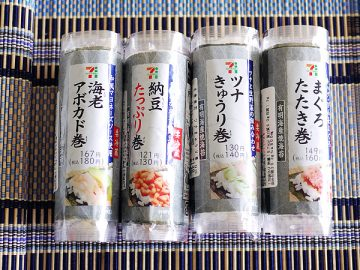 新発見、「コンビニ手巻き寿司ダイエット」。美味しくてハマった