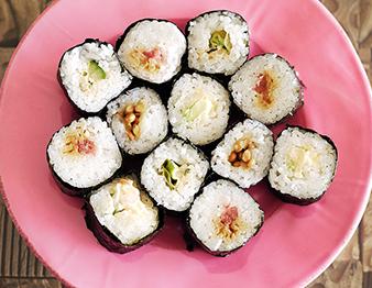 新発見、「コンビニ手巻き寿司ダイエット」<br />美味しくてハマった