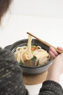 THE 鍋焼うどん(試食の様子:1)