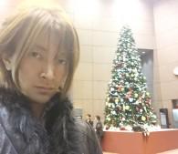 勝部・女子SPA!連載withクリスマスツリー