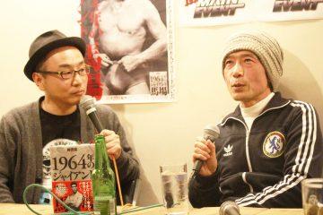 プチ鹿島さん(左)と柳澤健さん