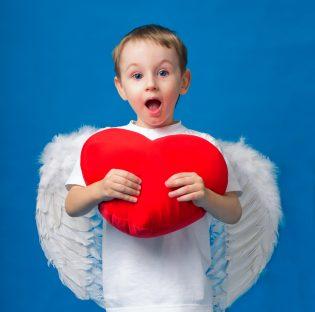 天使がバレンタインをサポート!