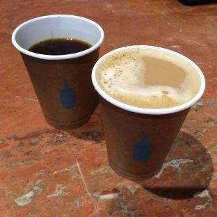 コーヒーとカフェオレ
