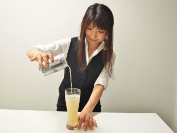 グレープフルーツビール(作り方3)
