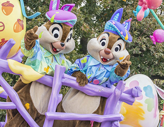 ヘンテコ楽しい!! <br />「ディズニー・イースター」のパレードの楽しみ方