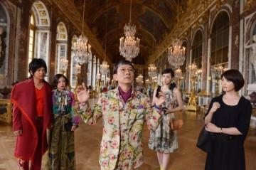 ヴェルサイユ宮殿のシーン