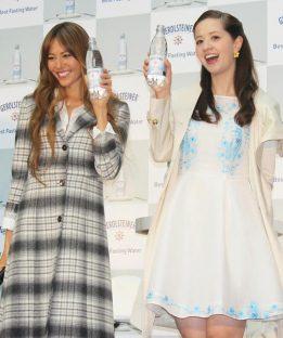 道端ジェシカさん(左)と春香クリスティーン