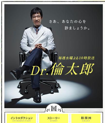 『Dr.倫太郎』HPより