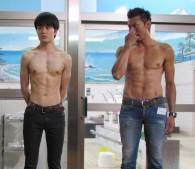 左から、入江甚儀さん(22歳・俳優)と岩永洋昭さん(36歳・俳優)
