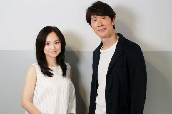 永作博美さんと佐々木蔵之介さん