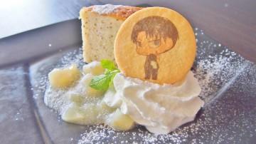 リヴァイ兵士長の紅茶ケーキ