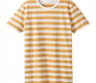 カラフルなボーダーTシャツ