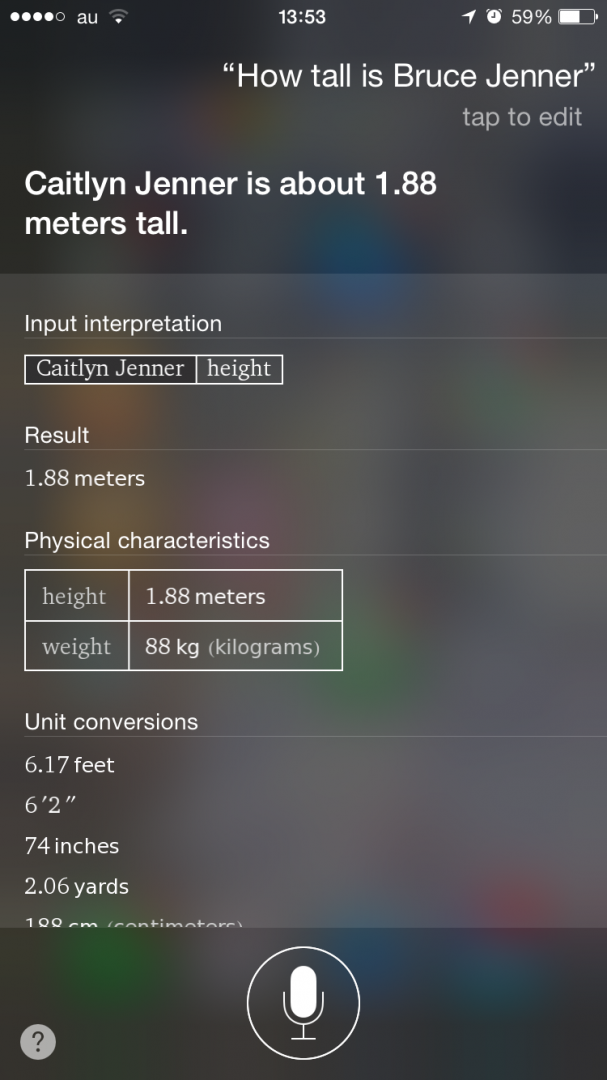 How tall is Bruce Jenner