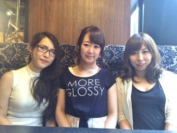 女性向けAVメーカー「ラ・コルビナ」の女性社員3名