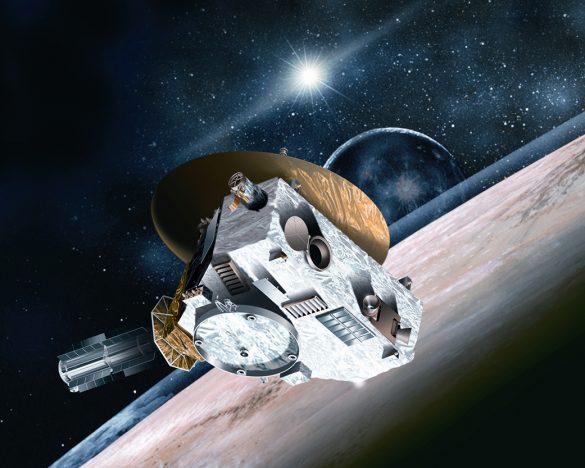 冥王星に探査機が最接近